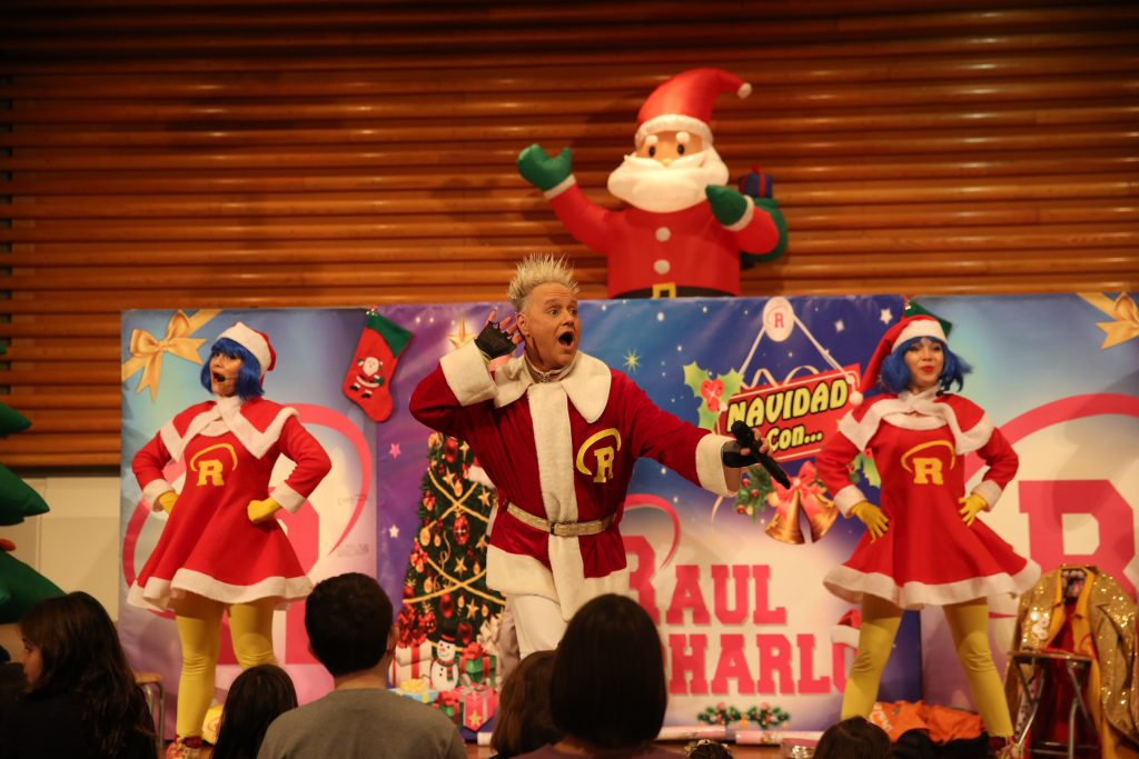 Raul Charlo, fiesta infantil, UGT