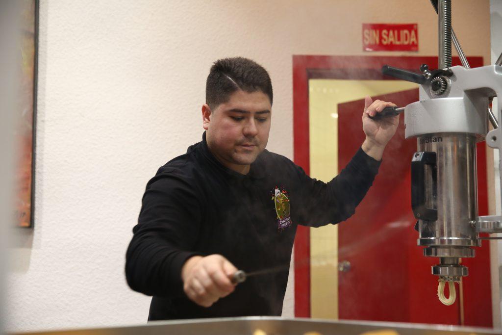 Equipo Humano de ChurroFiesta. catering de churros con chocolate