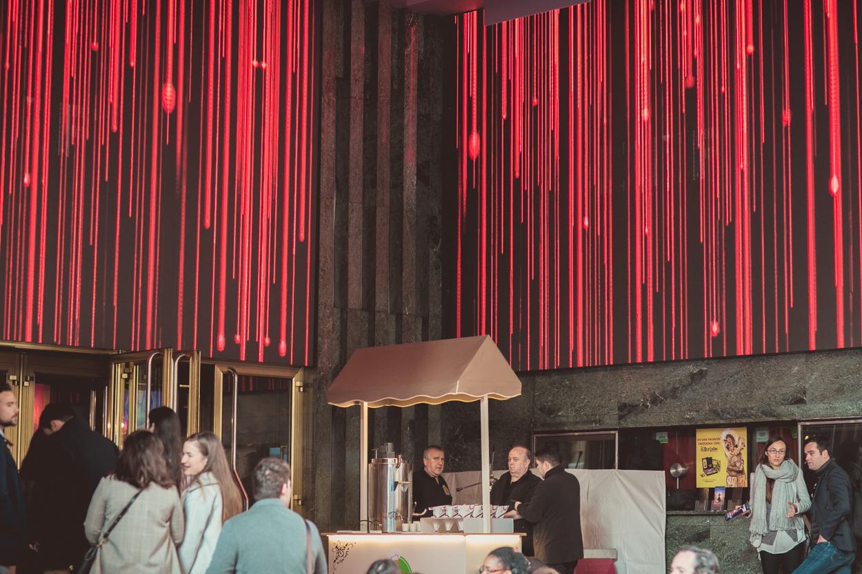 churro fiesta en foa2019, churros para eventos