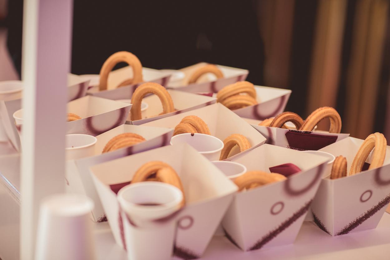 churros con chocolate para eventos, churros en foa2019