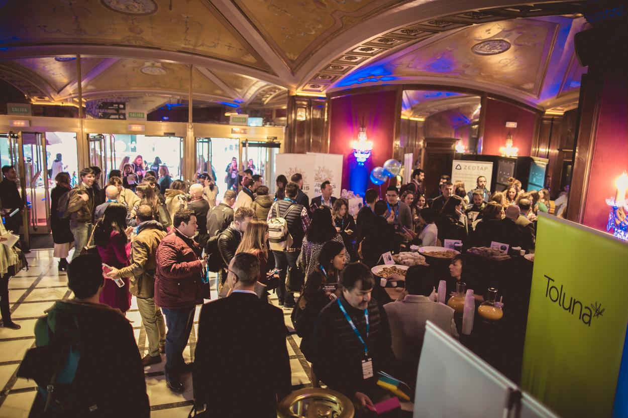 evento foa2019,churros con chocolate eventos